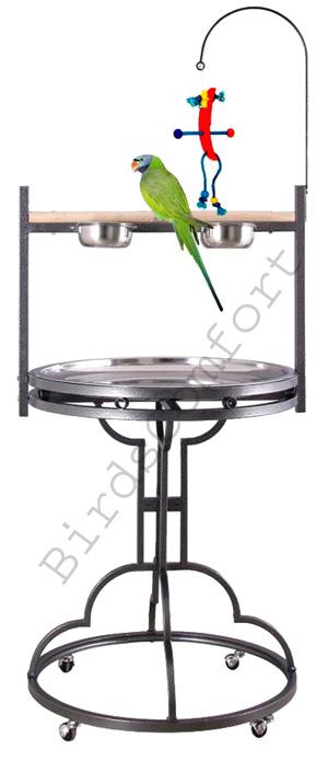 Bird feeder on stand bird feedersbird feeders for How to make a birdhouse stand