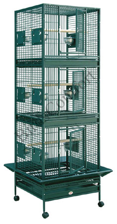 HQ Breeder Stackable Bird Cages 24x22 - by BirdsComfort.com