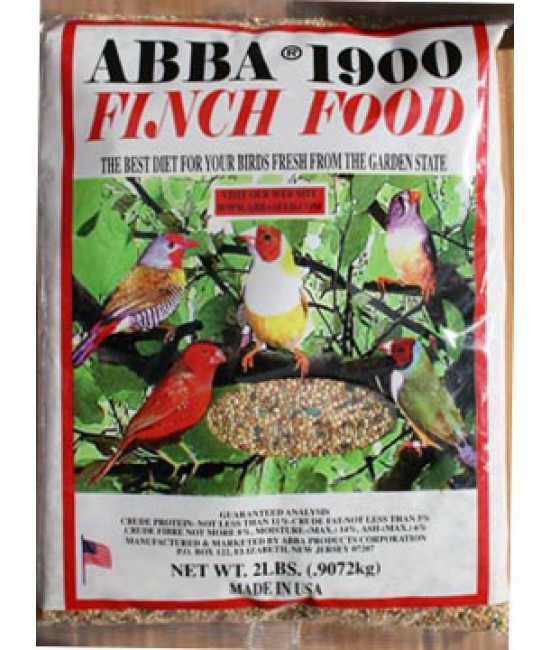 Bag of Complete Finch Food