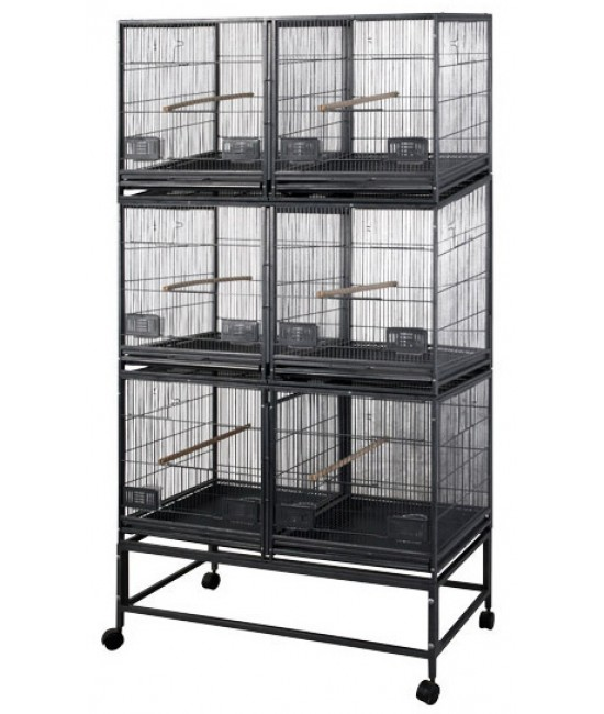 AE 6 Unit Breeder Cage 40x20