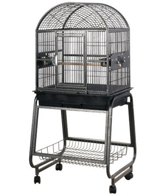 AE Dome Top Cockatiels Cages with Plastic Base 22x17