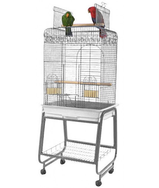 AE Square Top Conure Bird Cages 22x18