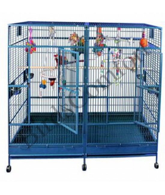 AE Enormous Double Macaw Cage 80x40