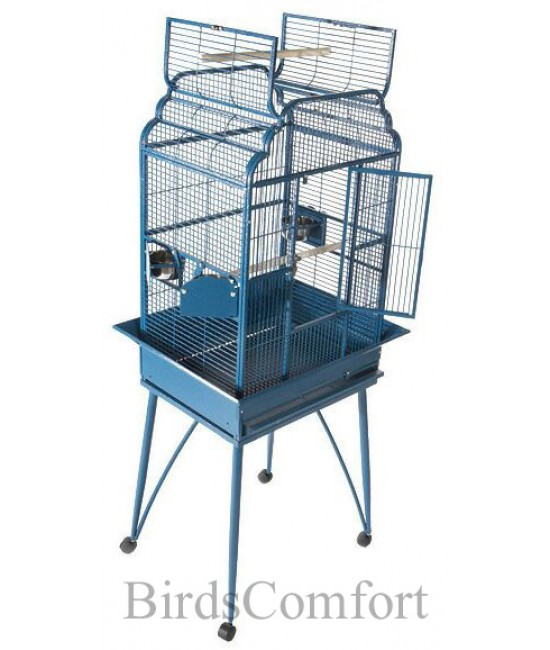 AE Small Flat Top Lovebirds Cage 26x20
