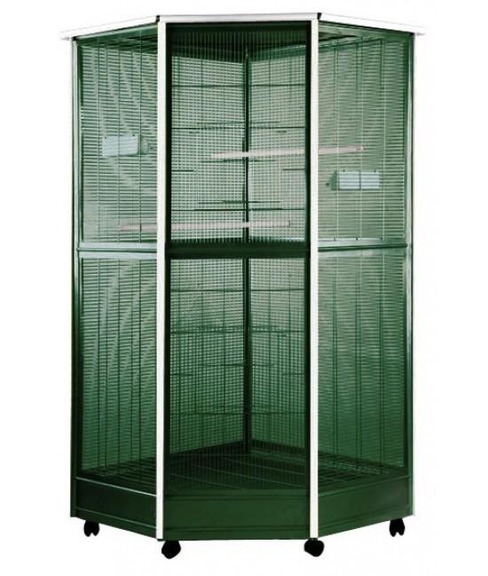 AE Large Corner Aviary 52x42