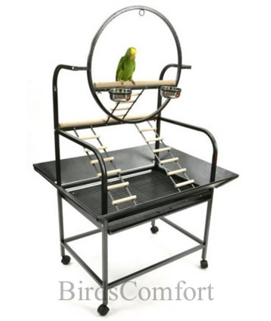 "AE The ""O"" Parrot Playstand"