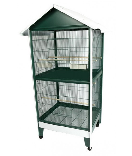 AE Pitched Roof Aviary 38x29