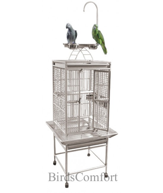 AE Small Playtop Parakeets Cage 18x18