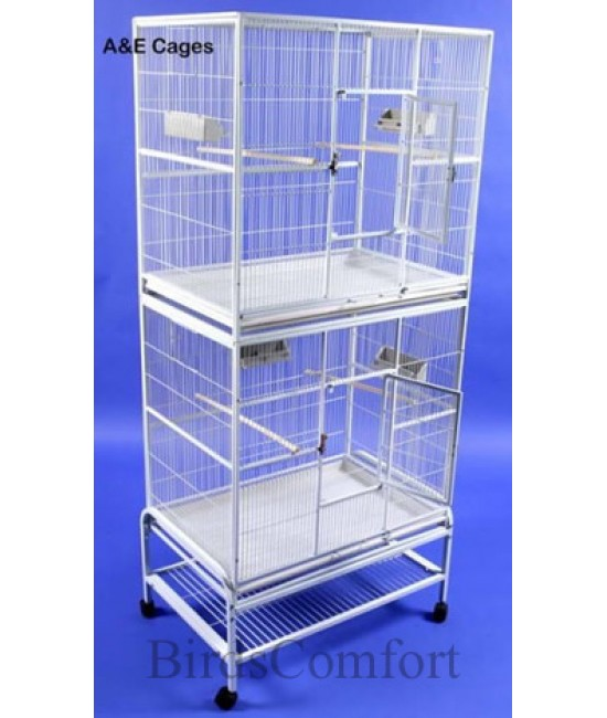 AE Double Stack Flight Cage 32x21