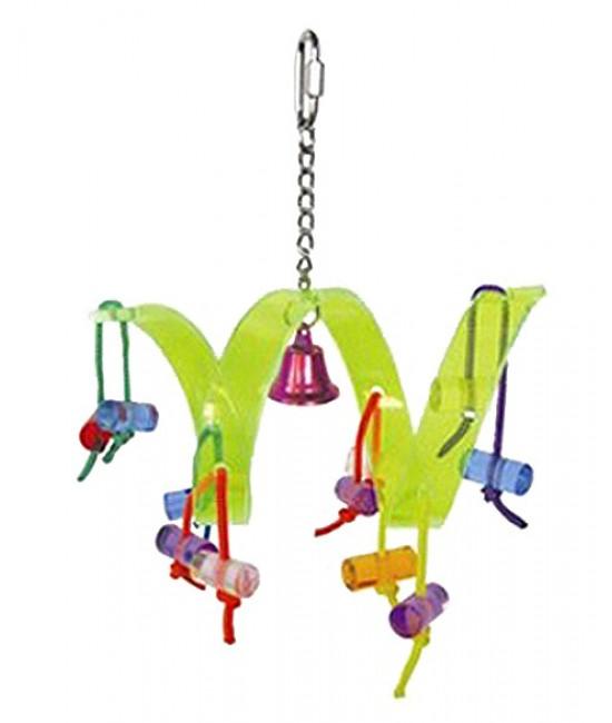 Roller Coaster - Acrylic Bird Toys