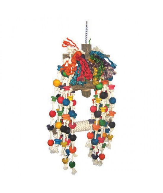 Rope Jumbo Swing Bird Toy