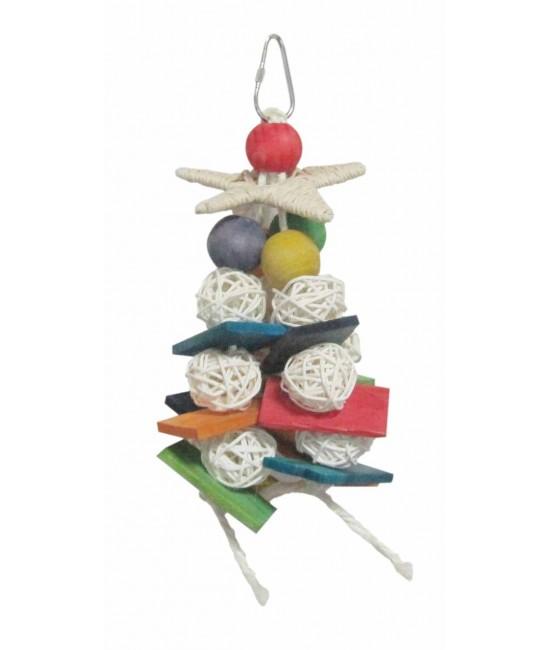 Shreddable Balls with Star Bird Toy
