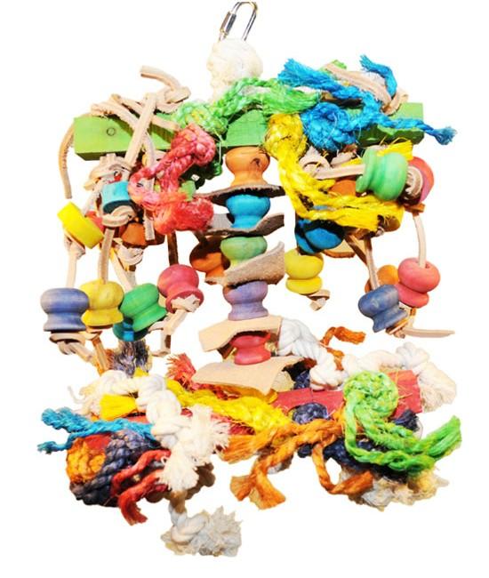 Small Squid Bird Toy