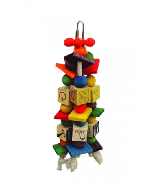 The ABC Blocks Bird Toys