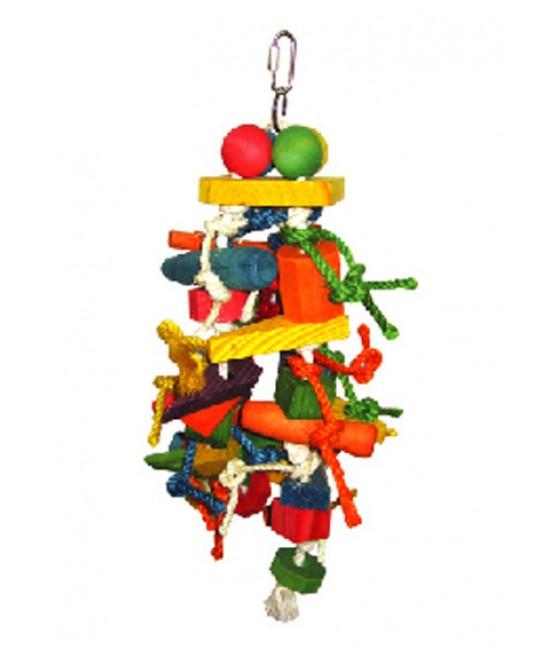 Wood Shape Chew Bird Toys