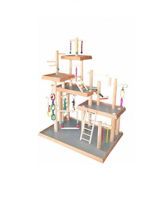 Five Level Bird Play Gym 5-2