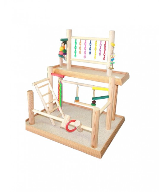 Cockatiel play gym 2 4 0 reviews write a review share brand bird gyms