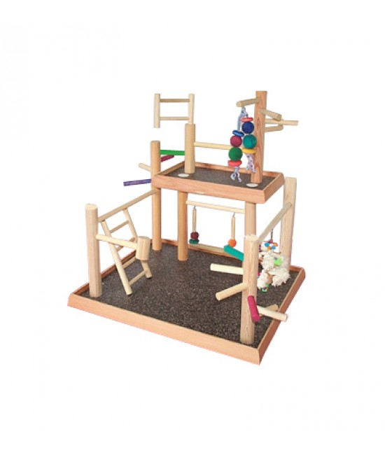 Two Level Bird Play Gym 2-8