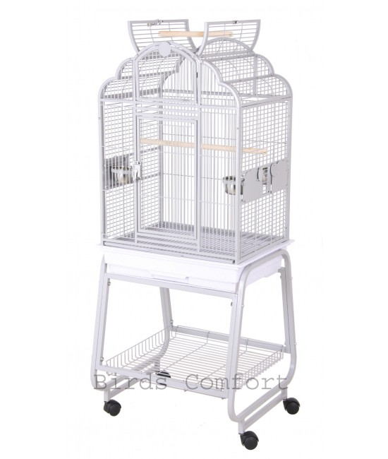 HQ Bird Cages Victorian with Cart Stand 22x17