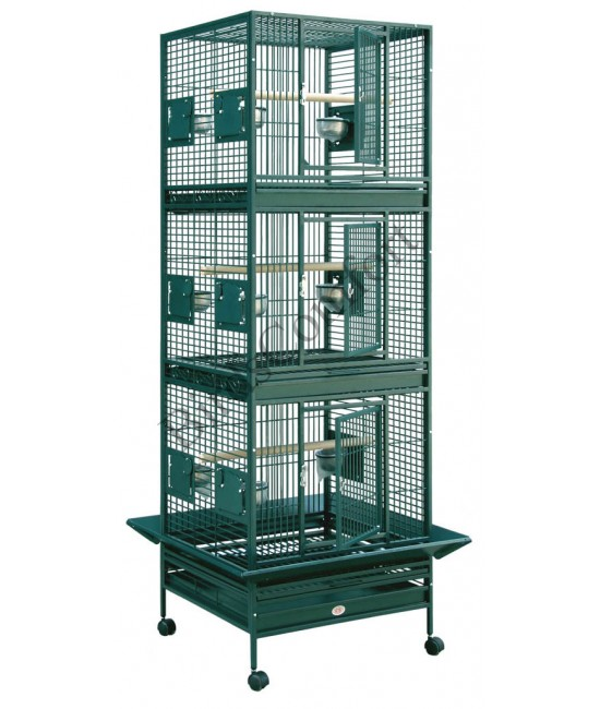 HQ Breeder Stackable Bird Cages 24x22