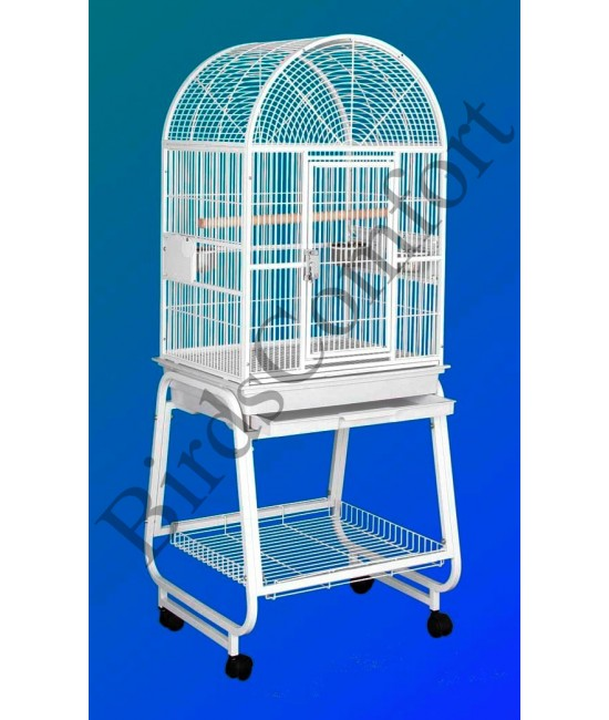 HQ Cockatiel Bird Cage With Cart Stand 22x17