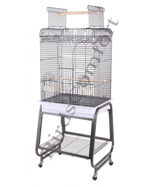HQ Flat Cockatiel Small Bird Cages 24x18