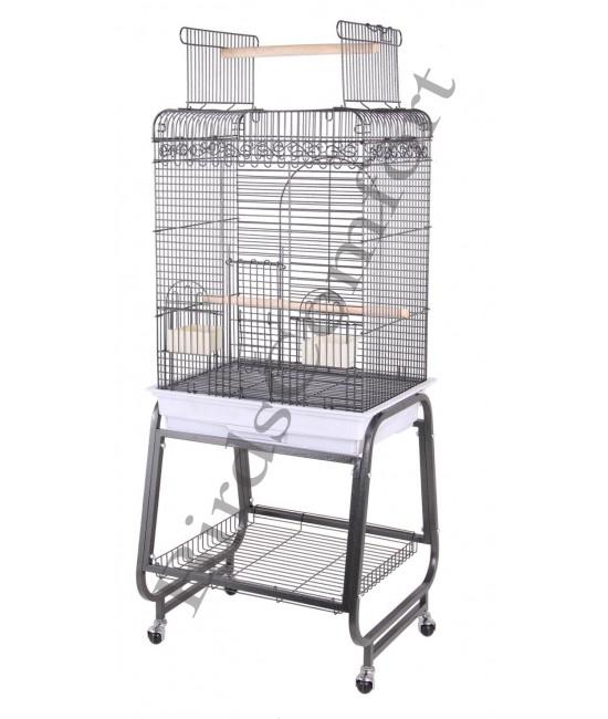 HQ Flat Cockatiel Small Bird Cages 24x18