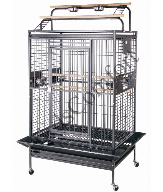 HQ Double Play Top Large Bird Cage 40x30