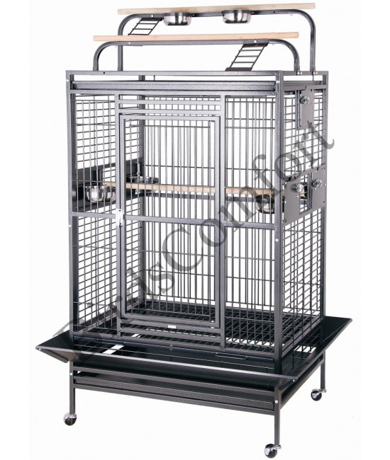 HQ Double Playtop Medium Bird Cage 36x28