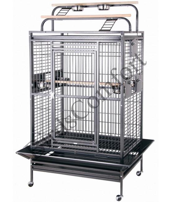 HQ Double Playtop Medium Bird Cage 36x28