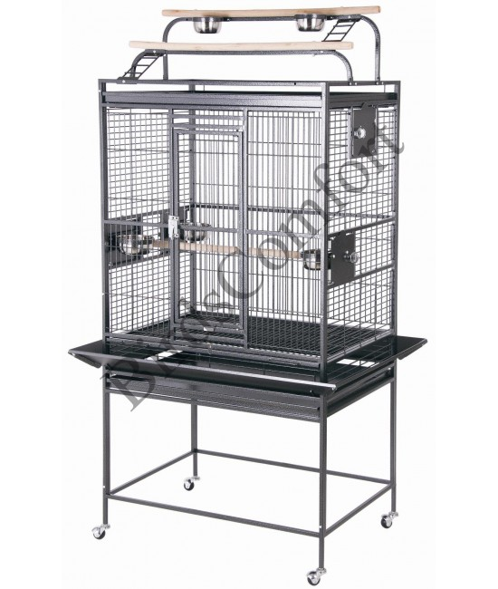 HQ Medium Double Playtop Bird Cage 32x23