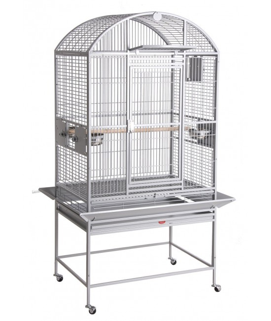 HQ Dometop Parrot Bird Cage with Drop Door 32x23