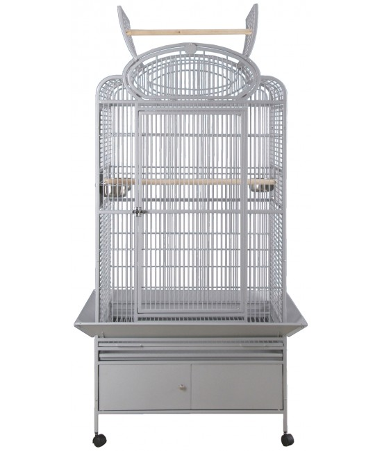 HQ Large Two Tops Bird Cage 32x23