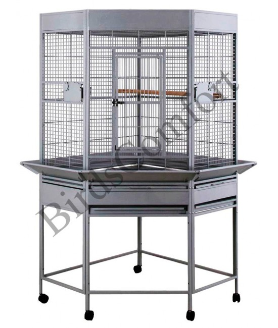 HQ Medium Corner Bird Cage 32x30