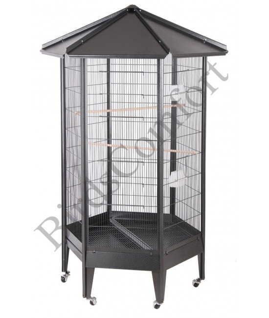 HQ Large Parrot Aviary Cage 36x31