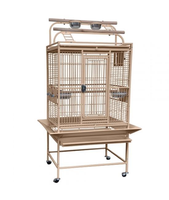 Medium Playtop Bird Cage 32x23
