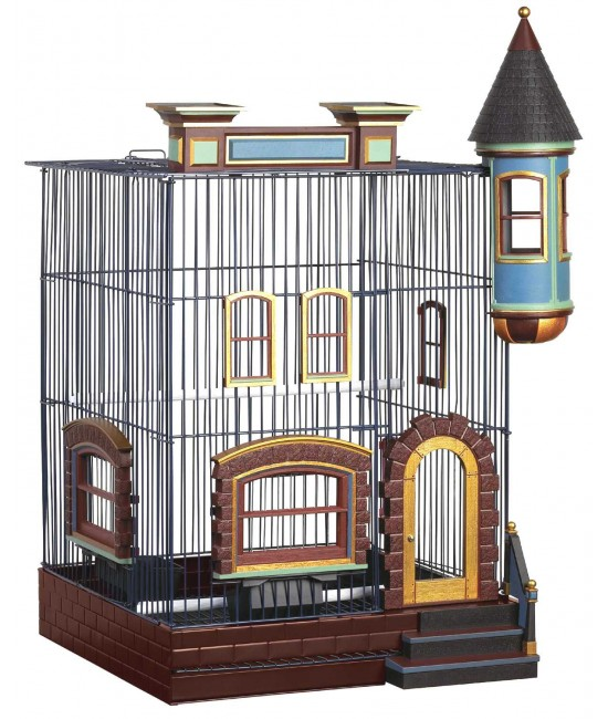 FeatherStone Heights Brownstone Bird Cage