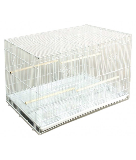 Single Pack Divided Flight Cage Finch