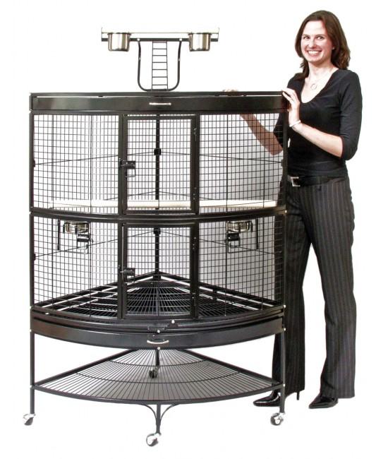 Large Prevue Pet Corner Parrot Cages