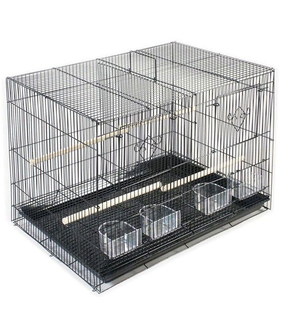 Single Pack Divided Flight Cage