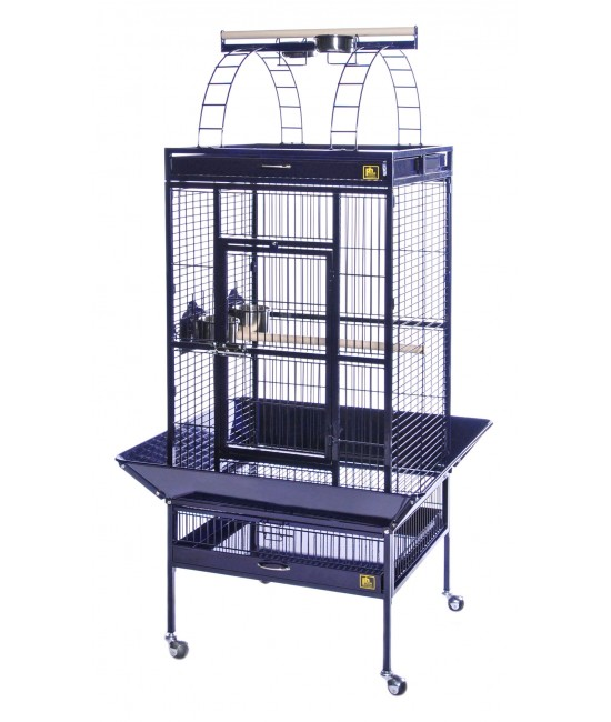 Medium Select Wrought Iron Parrot Cage