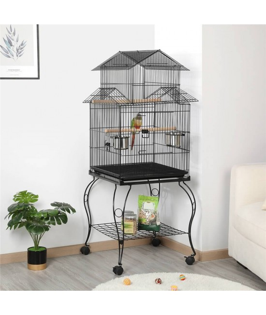 Amazing Small Parrot Bird Cage With Stand