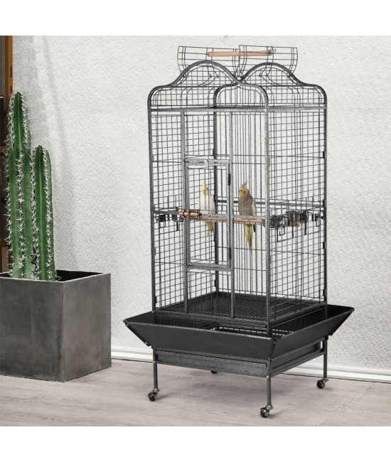 """Economy Victorian Large Parrot Bird Cage 63"""""""