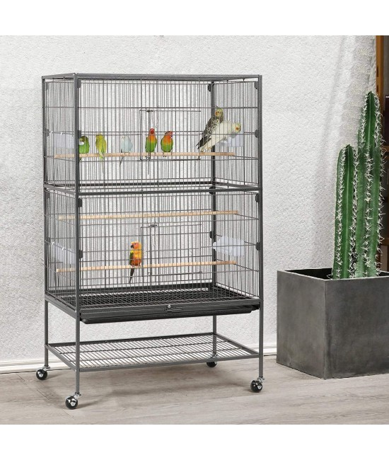 Large Flight Parrot Cage With Stand