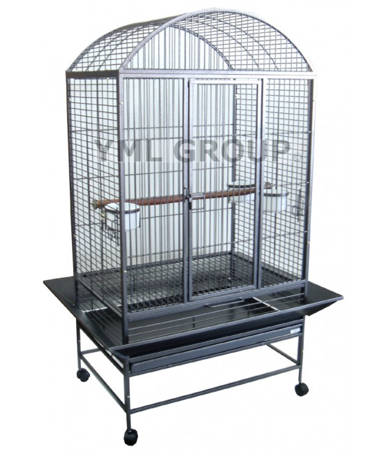 Dome Top Wrought Iron Bird Cage
