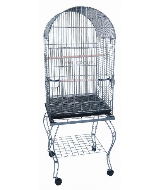 Dometop Parrot Cage with Stand