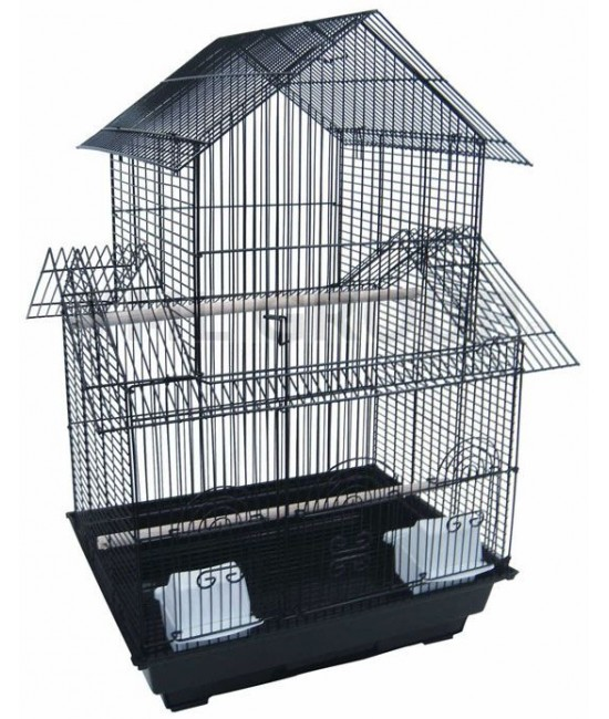 Double Roofs Small Bird Cage