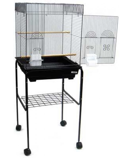 Flat Top Bird Cage With Stand