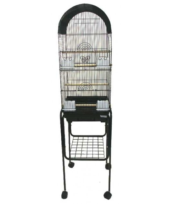 Round Bird Cage With Stand