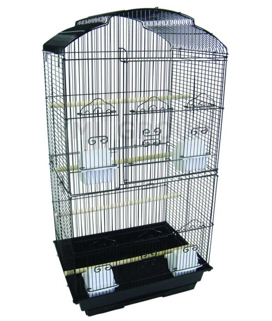 Small Bird Cage with Shall Top